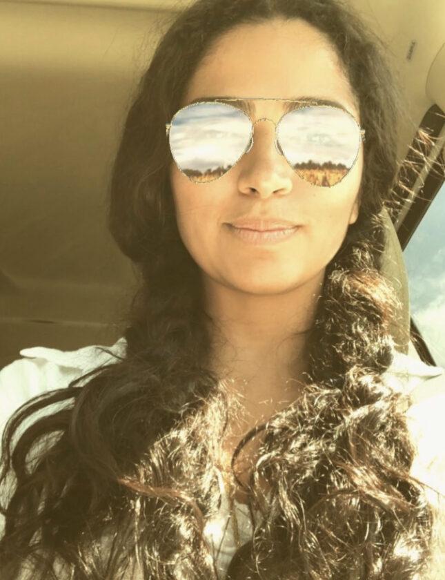 कैमिला धूप का चश्मा